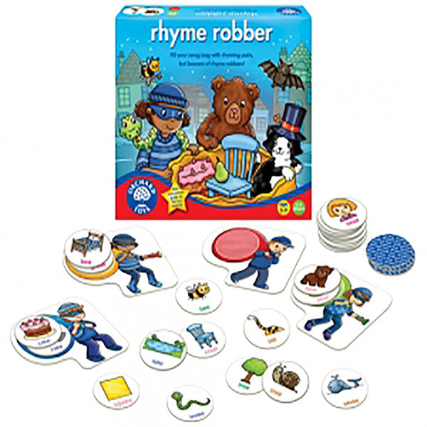 Orchard Toys - Rhyme Robber | KidzInc Australia | Online Educational Toy Store