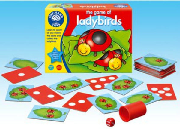 Orchard Toys - The Game of Ladybirds | KidzInc Australia | Online Educational Toy Store