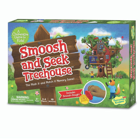 Peaceable Kingdom Smoosh and Seek Treehouse Game | Kidzinc Australia
