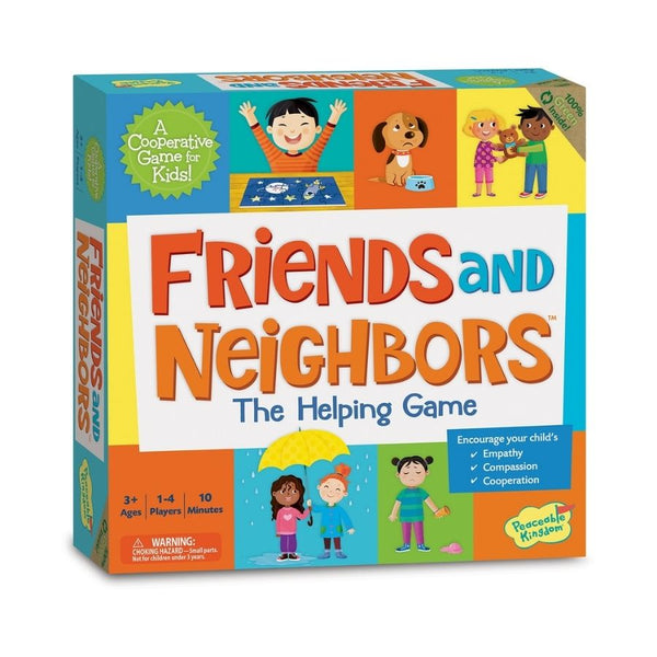 Peaceable Kingdom Game Friends & Neighbours Board Game | KidzInc