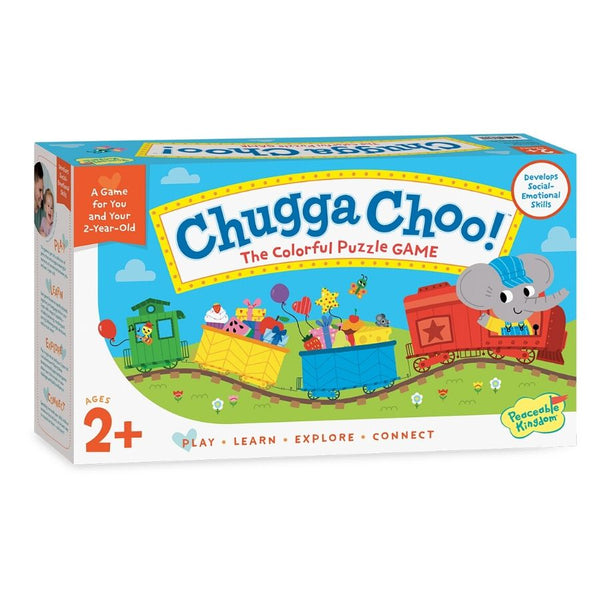 Peaceable Kingdom Chugga Choo Puzzle Game for Toddlers | KidzInc Australia