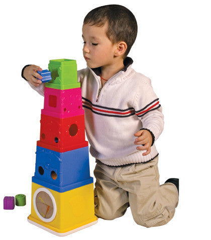 K's Kids - Owl! Stacking bucket | KidzInc Australia | Online Educational Toy Store
