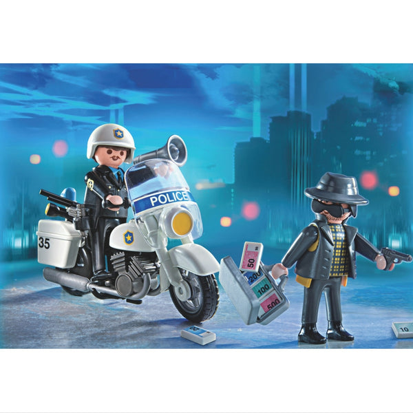Playmobil – Police Carry Case | KidzInc Australia | Online Educational Toy Store