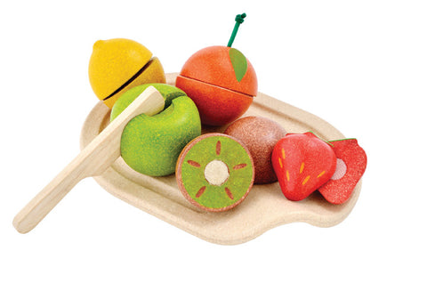 Plan Toys - Assorted Fruit Set | KidzInc Australia | Online Educational Toy Store