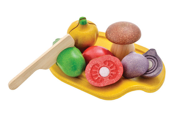Plan Toys - Assorted Vegetable Set | KidzInc Australia | Online Educational Toy Store