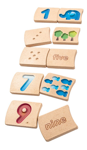 Plan Toys - Number 1-10 | KidzInc Australia | Online Educational Toy Store