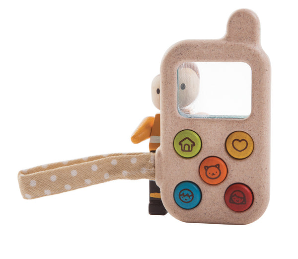 Plan Toys - My First Phone | KidzInc Australia | Online Educational Toy Store