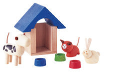 Plan Toys - Pets & Accessories | KidzInc Australia | Online Educational Toy Store