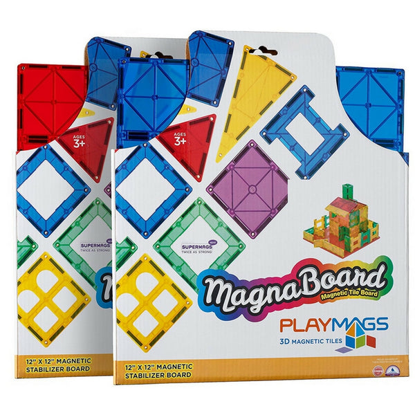 Playmags - Super Mags Durable Stabilizer Magnetic Building Board | KidzInc Australia | Online Educational Toy Store