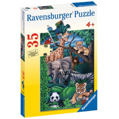 Ravensburger 35 pc -Animal Kingdom Puzzle | KidzInc Australia | Online Educational Toy Store