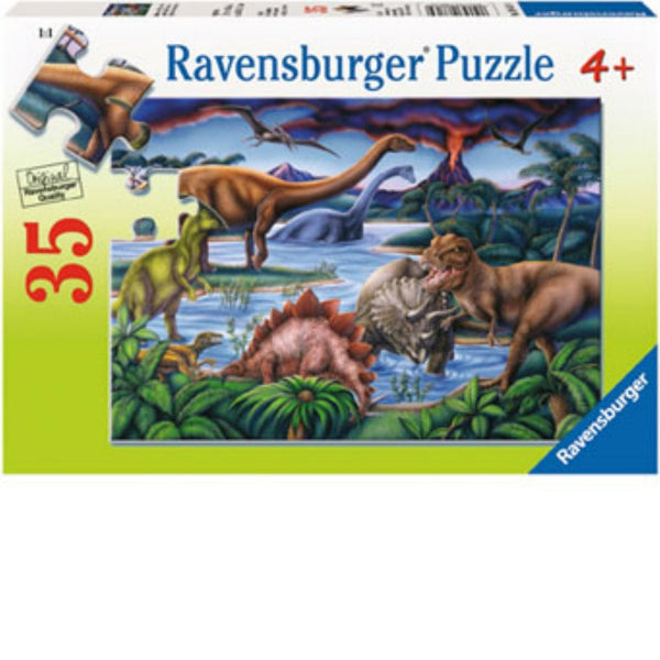 Ravensburger 35 pc -Dinosaur Playground Puzzle | KidzInc Australia | Online Educational Toy Store