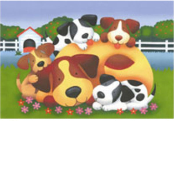 Ravensburger 35 pc -Doggie Family Puzzle | KidzInc Australia | Online Educational Toy Store