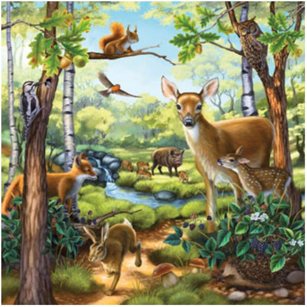 Ravensburger 3x49 pc -Forest Zoo & Pets Puzzle | KidzInc Australia | Online Educational Toy Store