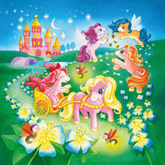 Ravensburger 3x49 pc -Ponies in Wonderland Puzzle | KidzInc Australia | Online Educational Toy Store