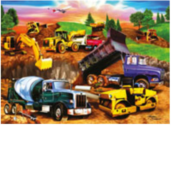 Ravensburger 60 pc -Construction Crowd Puzzle | KidzInc Australia | Online Educational Toy Store