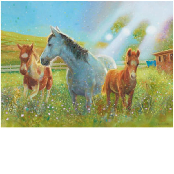 Ravensburger 100 pc -Equine Pasture Puzzle | KidzInc Australia | Online Educational Toy Store