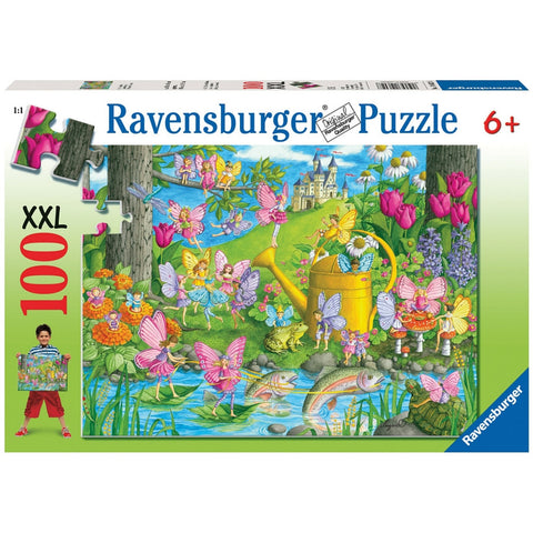 Ravensburger 100 pc -Fairy Playland Puzzle | KidzInc Australia | Online Educational Toy Store