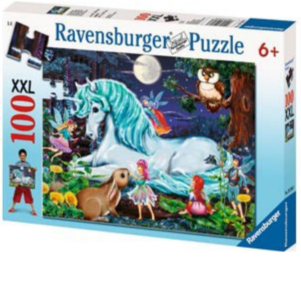 Ravensburger 100 pc -Unicorns World Puzzle | KidzInc Australia | Online Educational Toy Store