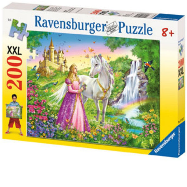 Ravensburger 200 pc -Princess with Horse Puzzle | KidzInc Australia | Online Educational Toy Store