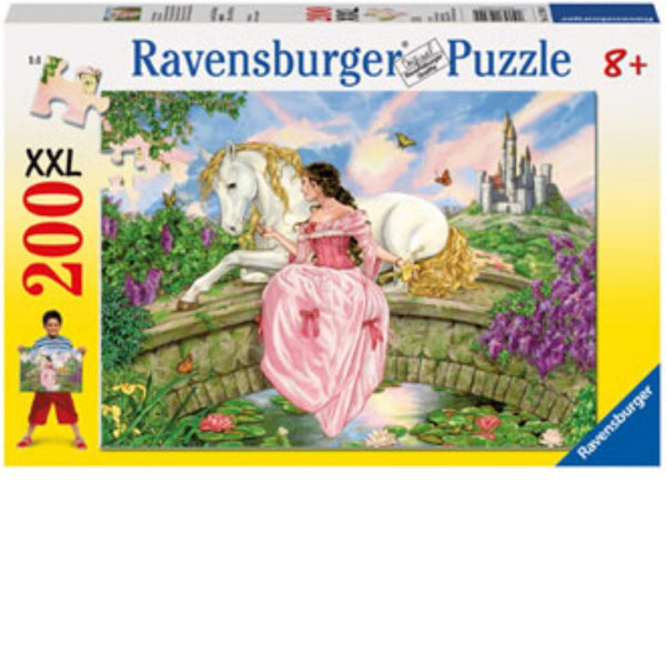 Ravensburger 200 pc -Princess at the Pond Puzzle | KidzInc Australia | Online Educational Toy Store
