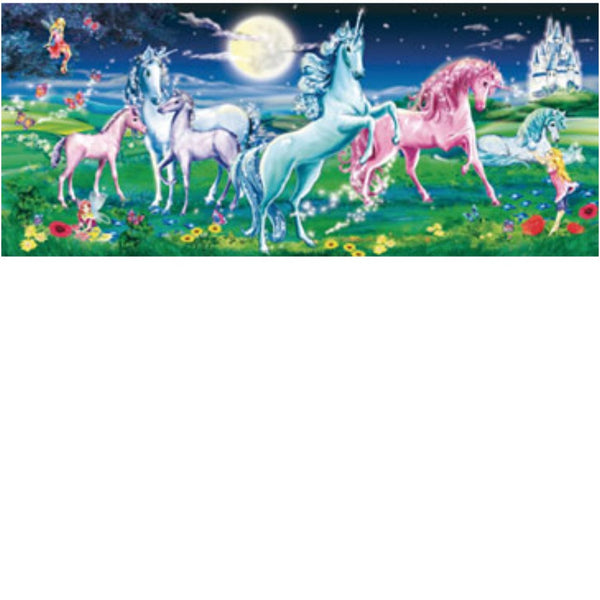 Ravensburger 200 pc -Magical Unicorns Pano Puzzle | KidzInc Australia | Online Educational Toy Store