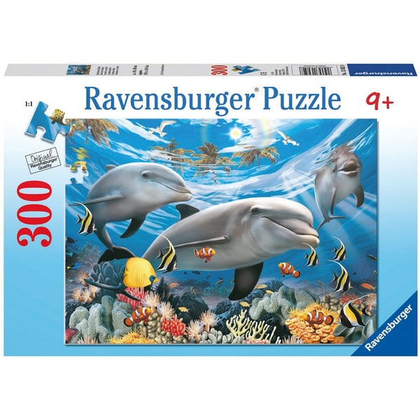 Ravensburger 300 pc -Caribbean Smile Puzzle | KidzInc Australia | Online Educational Toy Store