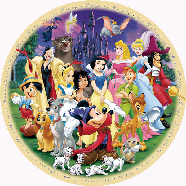 Ravensburger 1000 Pc - Disney Wonderful World Puzzle | KidzInc Australia | Online Educational Toy Store