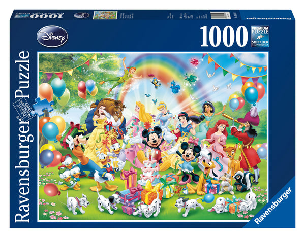 Ravensburger 1000 Pc - Disney Mickey's Birthday Puzzle | KidzInc Australia | Online Educational Toy Store