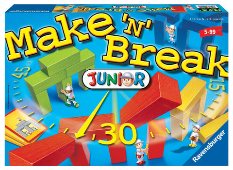 Ravensburger - Make 'N' Break Junior Game | KidzInc Australia | Online Educational Toy Store