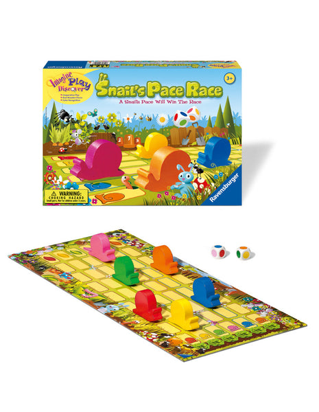 Ravensburger - Snail's Pace Race Game | KidzInc Australia | Online Educational Toy Store