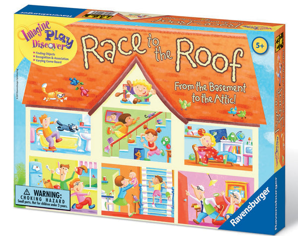 Ravensburger - Race to the Roof Game | KidzInc Australia | Online Educational Toy Store