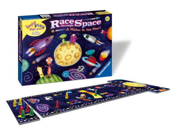 Ravensburger - Race Through Space Game | KidzInc Australia | Online Educational Toy Store