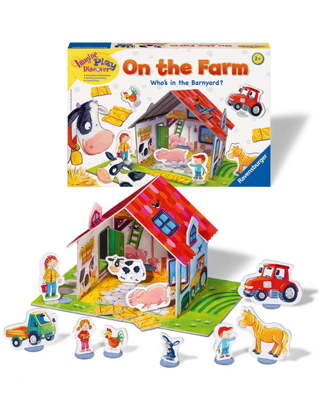 Ravensburger - On the Farm Game | KidzInc Australia | Online Educational Toy Store