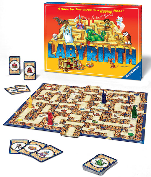 Ravensburger - Amazing Labyrinth Board Game | KidzInc Australia | Online Educational Toy Store