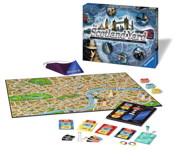 Ravensburger - New Scotland Yard Game | KidzInc Australia | Online Educational Toy Store