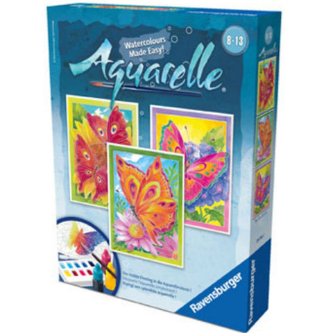 Ravensburger - Aquarelle Artists Set Butterfly | KidzInc Australia | Online Educational Toy Store