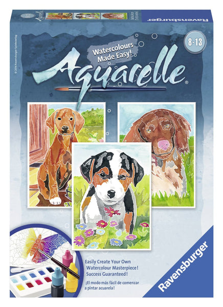 Ravensburger - Aquarelle Artists Set Puppies | KidzInc Australia | Online Educational Toy Store