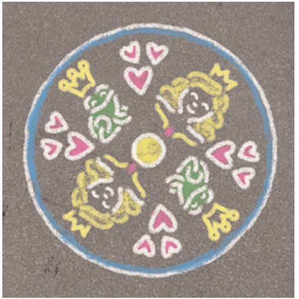 Ravensburger - Outdoor Mandala Princess | KidzInc Australia | Online Educational Toy Store