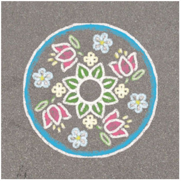 Ravensburger - Outdoor Mandala Flowers & Butterflies | KidzInc Australia | Online Educational Toy Store
