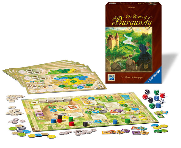 Ravensburger - The Castles of Burgundy Game | KidzInc Australia | Online Educational Toy Store
