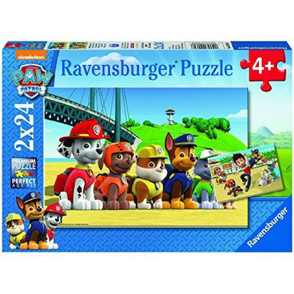 Ravensburger 2 x 24 Pc: Paw Patrol Picnic At the Beach Puzzle | KidzInc Australia | Online Educational Toy Store