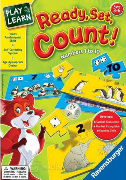Ravensburger - Ready Set Count! Game | KidzInc Australia | Online Educational Toy Store