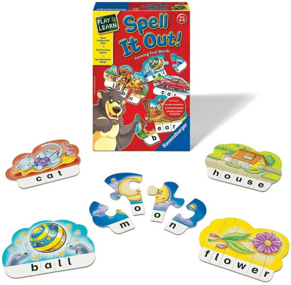 Ravensburger - Spell It Out! Game | KidzInc Australia | Online Educational Toy Store