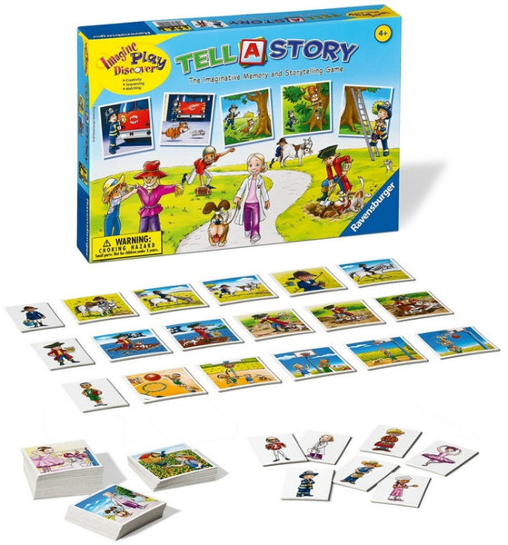 Ravensburger - Tell-A-Story Game | KidzInc Australia | Online Educational Toy Store