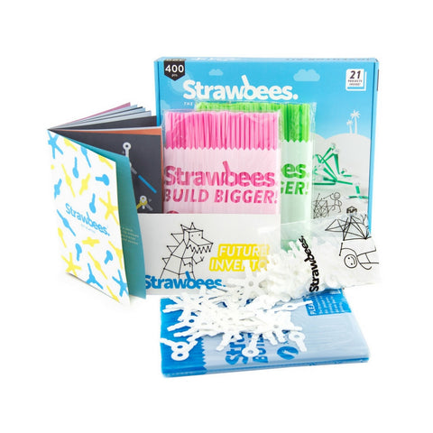 Strawbees - Inventor Builder Kit | KidzInc Australia | Online Educational Toy Store