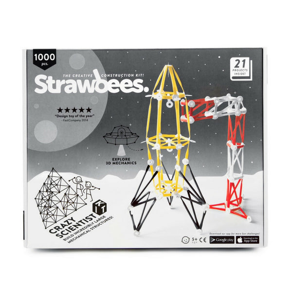 Strawbees - Crazy Scientist Building Kit | KidzInc Australia | Online Educational Toy Store
