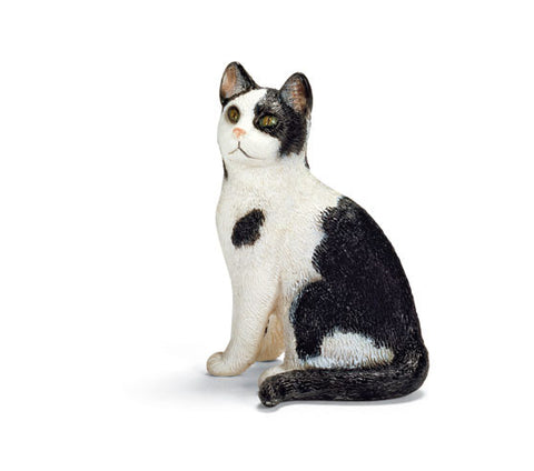 Schleich - Cat Sitting | KidzInc Australia | Online Educational Toy Store