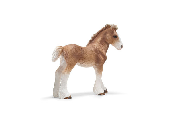 Schleich - Clydesdale foal | KidzInc Australia | Online Educational Toy Store