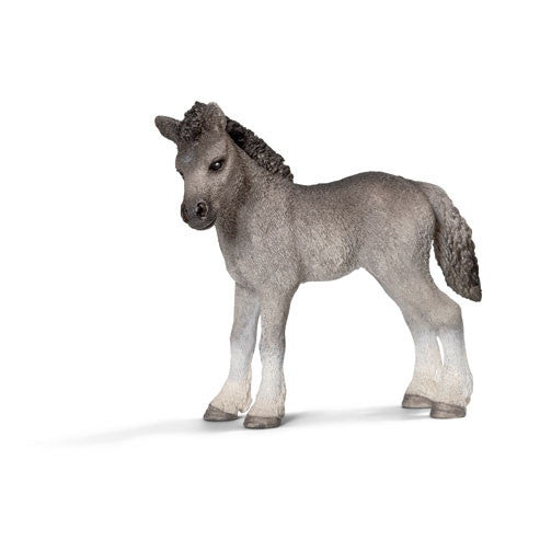 Schleich - Fell Pony Foal | KidzInc Australia | Online Educational Toy Store