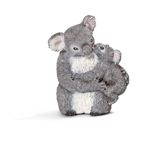 Schleich - Koala bear with cub | KidzInc Australia | Online Educational Toy Store
